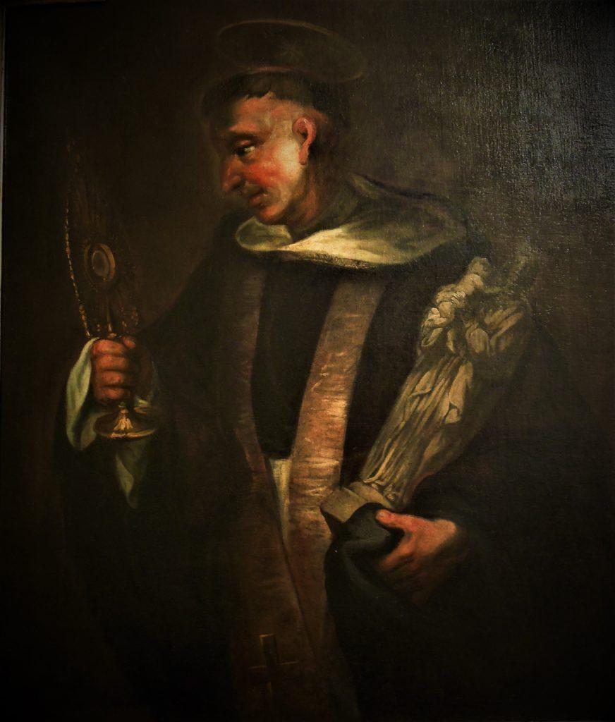 Wizerunek św.Jacka zklasztoru Dominikanów weWrocławiu